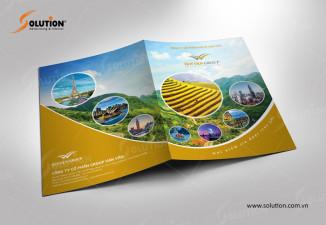 Thiết kế file, folder công ty du lịch Vạn Vân