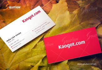 Thiết kế logo cửa hàng giầy dép Kaogot