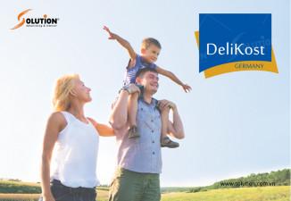 Thiết kế logo công ty thực phẩm chức năng DeliKost Germany