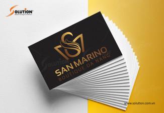 Bộ nhận diện khách sạn 4 sao tuyệt đẹp San Marino Đà Nẵng