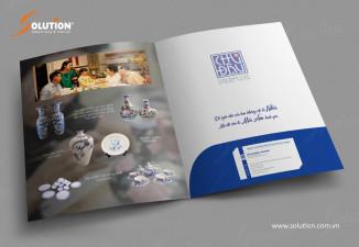 Thiết kế bộ nhận diện công ty gốm Chu Đậu Hải Dương