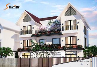 Mẫu thiết kế biệt thự đẹp hiện đại VILLA Vinhomes Riverside Hoa Lan