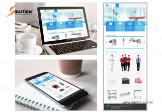 Thiết kế website công ty Bluemoon