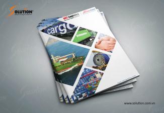 Thiết kế profile chuyên nghiệp Công ty Giao nhận Vận tải Quốc tế Hanotrans