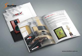 Thiết kế Catalogue Công ty TNHH Điện Tử Việt Mỹ