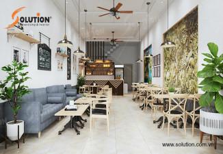 THIẾT KẾ NỘI THẤT QUÁN CAFE HÀ GIANG ĐỘC ĐÁO