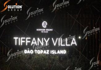 Thi công bảng biển khu Biệt Thự Đảo Ecopark Grand - The Island
