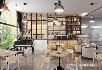 Thiết kế và thi công nội thất Nhà hàng Scafe