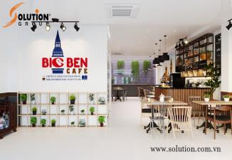 THIẾT KẾ NỘI THẤT QUÁN CAFE BIG BEN - ĐẸP ĐẾN TỪNG CHI TIẾT