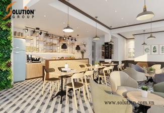 Thiết kế quán cafe đẹp Cafe Virgo Đông Anh, Hà Nội