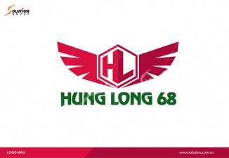 THIẾT KẾ LOGO CÔNG TY HƯNG LONG 68