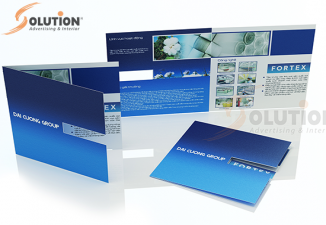 Thiết kế brochure Đại Cương Group