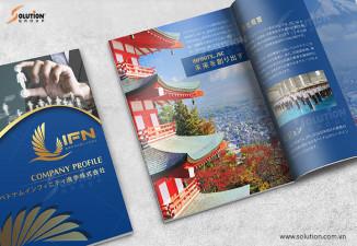 Mẫu profile công ty xuất khẩu lao động Nhật Bản IFN