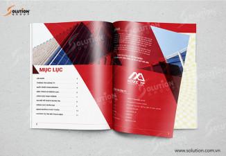 Thiết kế profile Hồ sơ năng lực công ty xây dựng