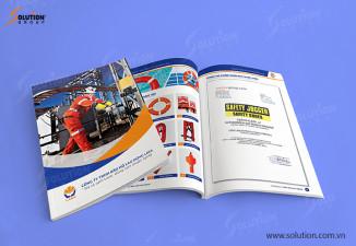 Thiết kế Brochure ATP GROUP