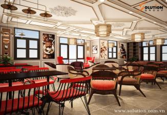 TECH COFFEE - XU HƯỚNG NỘI THẤT QUÁN CAFÉ NĂM 2020