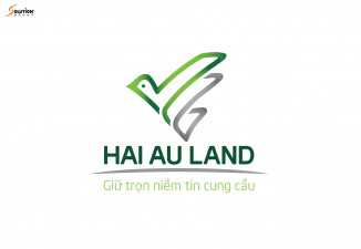 THIẾT KẾ LOGO CÔNG TY BẤT ĐỘNG SẢN HẢI ÂU LAND – GIỮ TRỌN NIỀM TIN