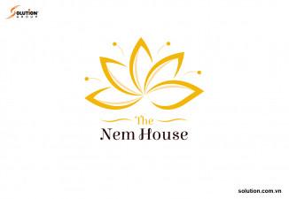 THIẾT KẾ LOGO NHÀ HÀNG THE NEM HOUSE – ẨM THỰC VÀ SỰ QUYẾN RŨ