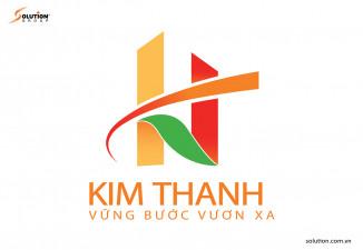 THIẾT KẾ LOGO BẤT ĐỘNG SẢN CÔNG TY TNHH THƯƠNG MẠI KIM THANH
