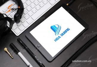 Thiết kế logo Công ty Hoa Dương