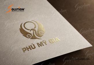 Thiết kế logo công ty Phú Mỹ Gia