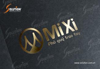 Thiết kế logo công ty trang sức phong thủy Mixi