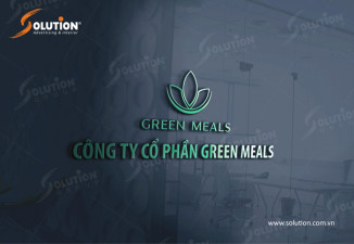 THIẾT KẾ LOGO CÔNG TY SUẤT ĂN CÔNG NGHIỆP GREEN MEALS