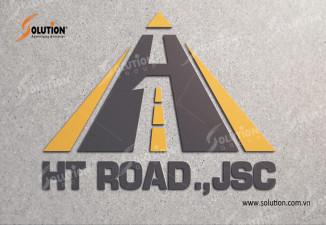 Thiêt kế logo Công ty HT Road