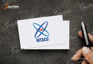THIẾT KẾ LOGO CÔNG TY CÔNG NGHỆ CAO HITACO BỘ QUỐC PHÒNG