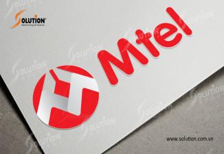 Thiết kế logo công ty Mtel