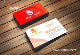 Thiết kế logo công ty Nhật Minh