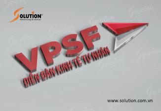 Thiết kế logo Diễn đàn Kinh tế Tư nhân VPSF