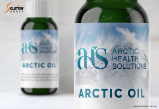 THIẾT KẾ BỘ NHẬN DIỆN ARCTIC HEALTH SOLUTIONS