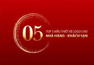 TOP 5 THIẾT KẾ LOGO NHÀ HÀNG - KHÁCH SẠN