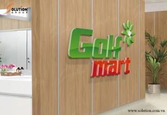 THIẾT KẾ LOGO VÀ BỘ NHẬN DIỆN THƯƠNG HIỆU GOLF-MART