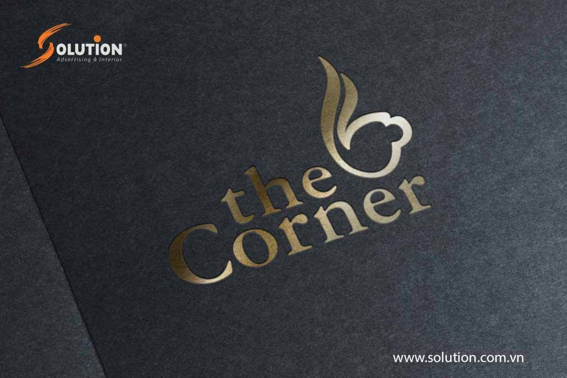 thiet ke logo the corner 1