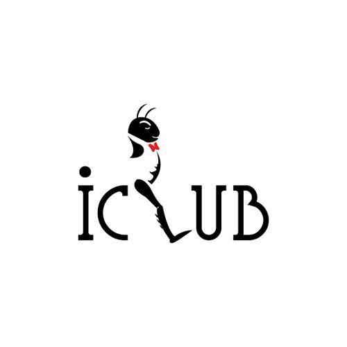 thiết kế logo iclub