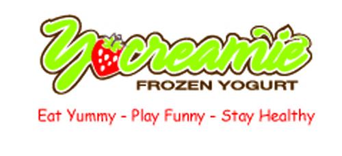 Thiết kế logo nhận diện thương hiệu quán kem YoCreamie