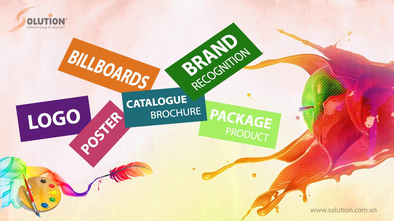 Dịch vụ thiết kế quảng cáo - thiết kế thương hiệu Solution