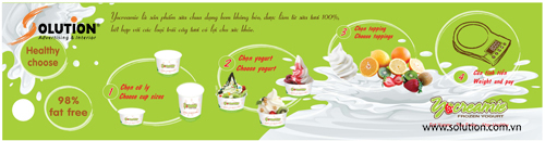 Thiết kế mẫu giới thiệu quy trình làm kem