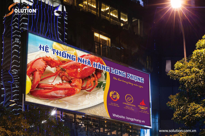 Hình ảnh biển quảng cáo Nhà hàng Long Phụng