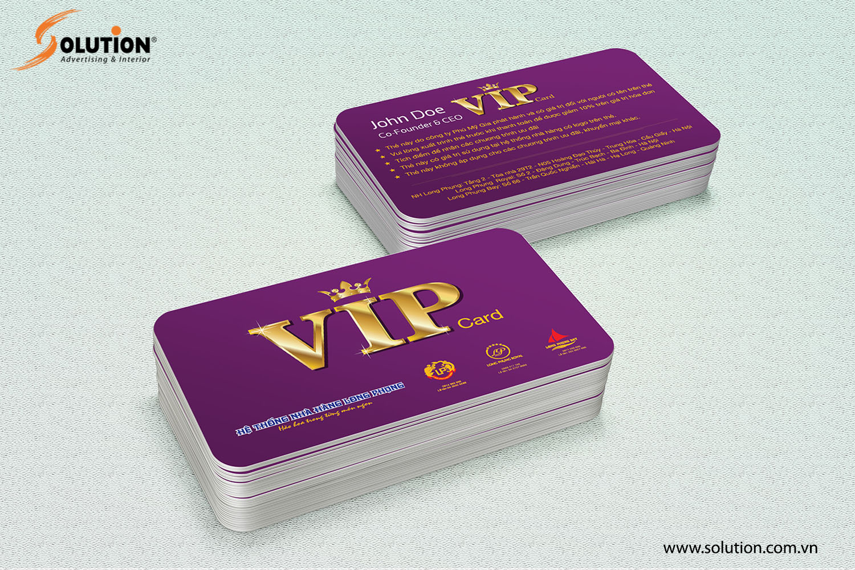 Mẫu thẻ khách hàng trong thiết kế bộ nhận diện thương hiệu Nhà hàng Long Phụng
