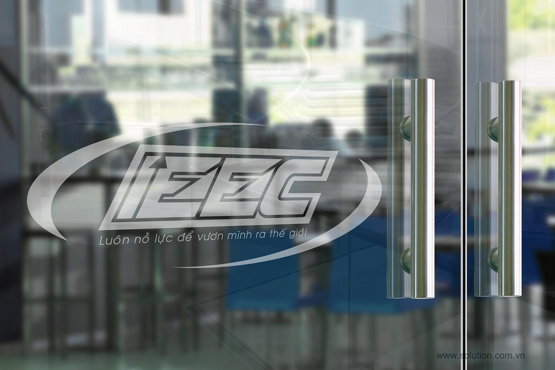 Mẫu logo Công ty IEEC