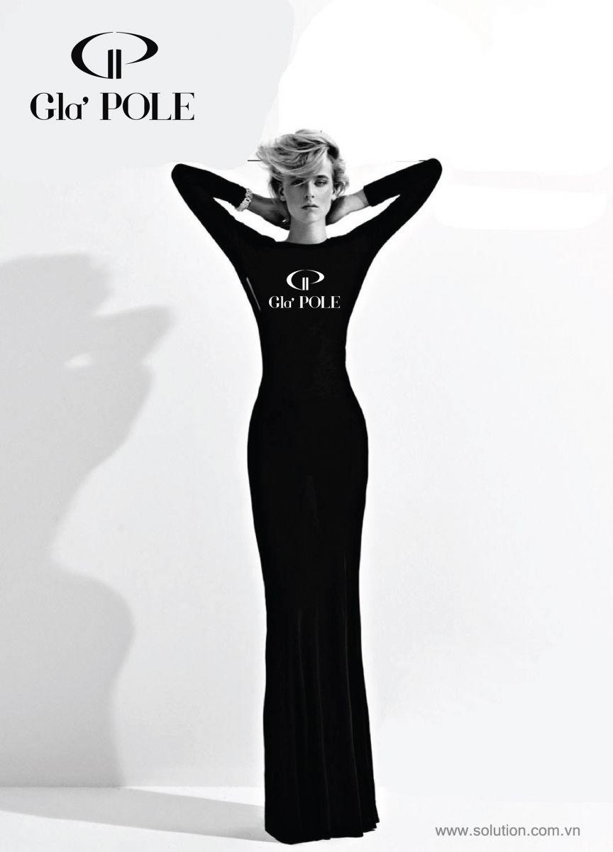 Mẫu thiết kế poster nhãn hiệu thời trang GlaPole