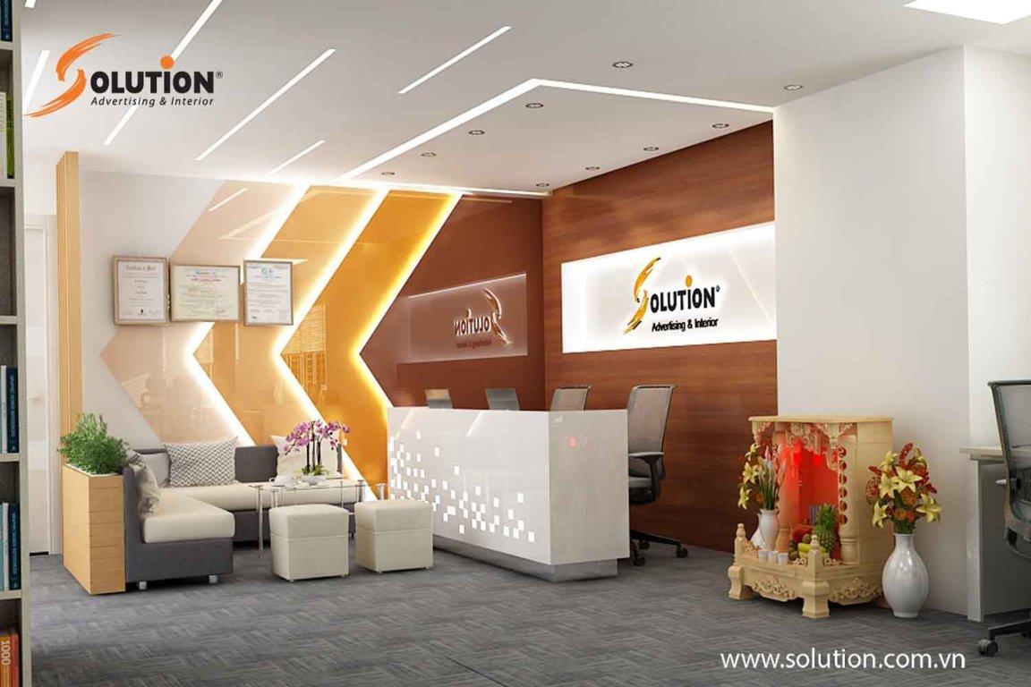 Solution cũng là một trong những đơn vị thi công thiết kế uy tín