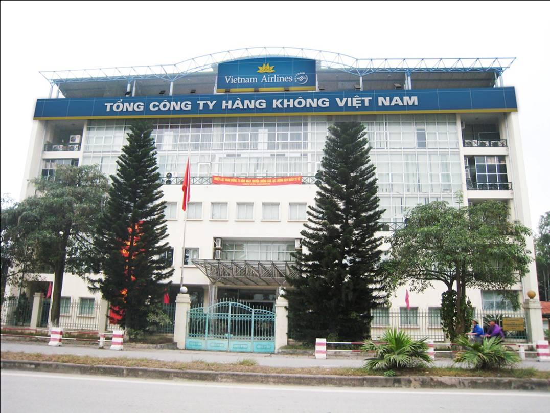 Thiết kế thi công biển quảng cáo Vietnam Airlines đã được hoàn thành