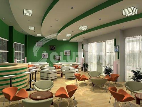 Mẫu thiết kế với tông màu xanh lá cây tạo cảm giác thân thiện