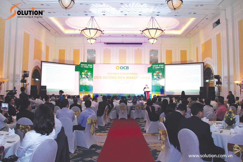 Tổ chức hội nghị tri ân khách hàng chuyên nghiệp tại Hà Nội