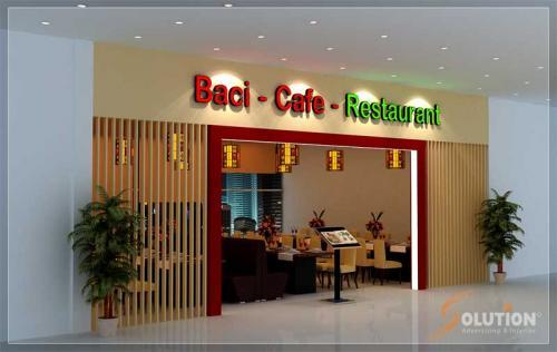 Nội thất Baci cafe
