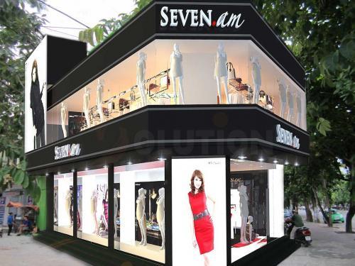 Thiết kế nội thất showroom ở Hà Nội